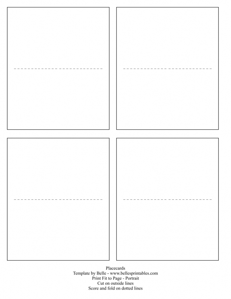 011 Place Cards Template Word Amazing Ideas Download Folding Free | Printable Place Cards Template