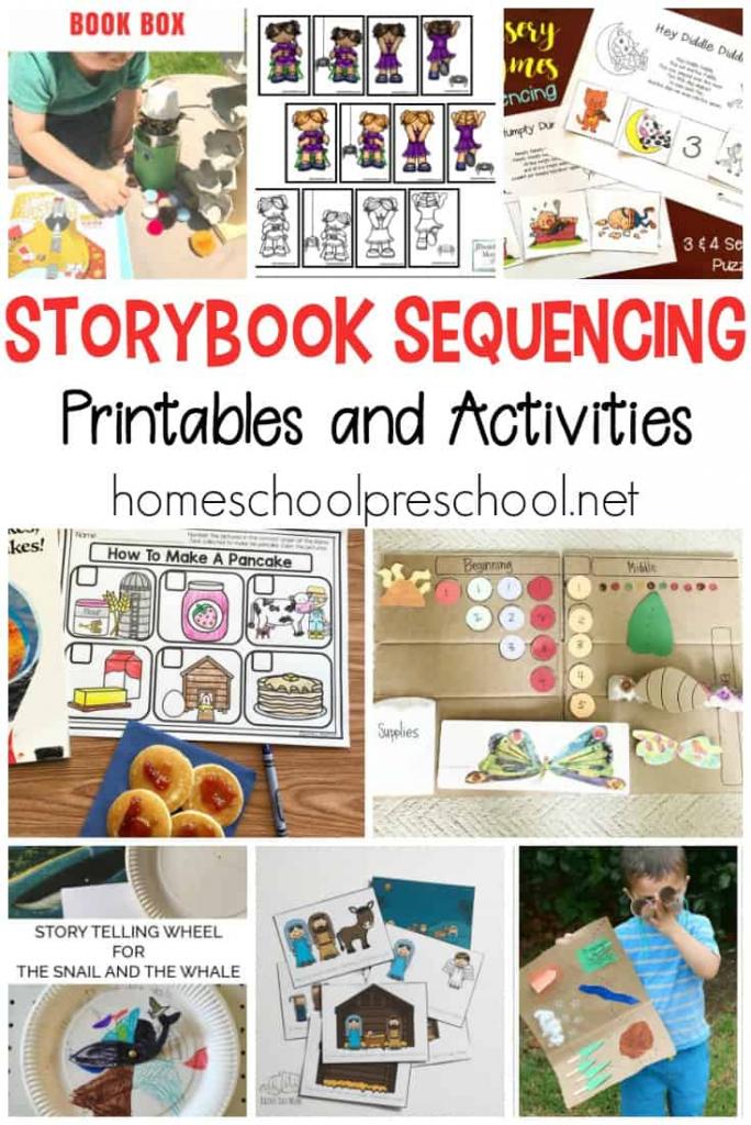 10 Story Sequencing Cards Printable Activities For Preschoolers   Free Printable Sequencing Cards For Preschool