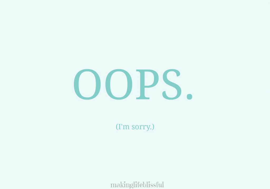 10 Ways To Apologize And Free Printable Cards   Making Life Blissful   Free Printable Apology Cards