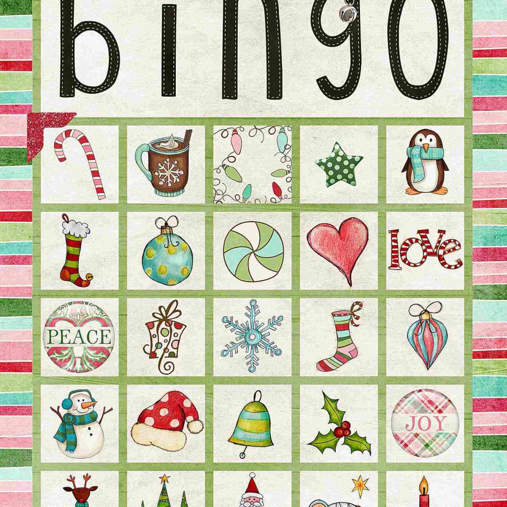11 Free, Printable Christmas Bingo Games For The Family | Dltk Printable Bingo Cards