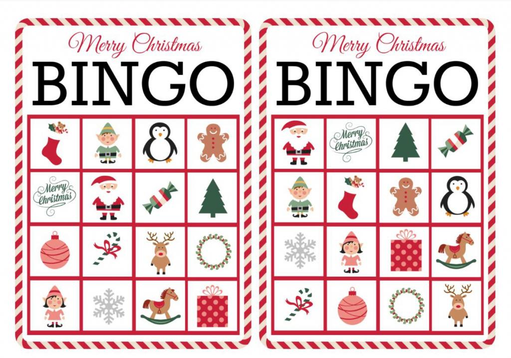 11 Free, Printable Christmas Bingo Games For The Family - Free | Free Printable Bingo Cards