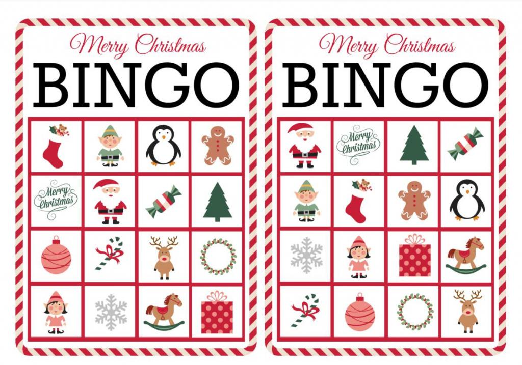 11 Free, Printable Christmas Bingo Games For The Family | Free Printable Christmas Bingo Cards