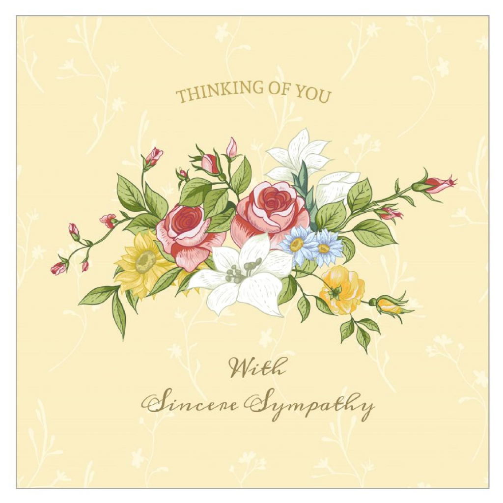 11 Free, Printable Condolence And Sympathy Cards | Printable Sympathy Card For Loss Of Dog