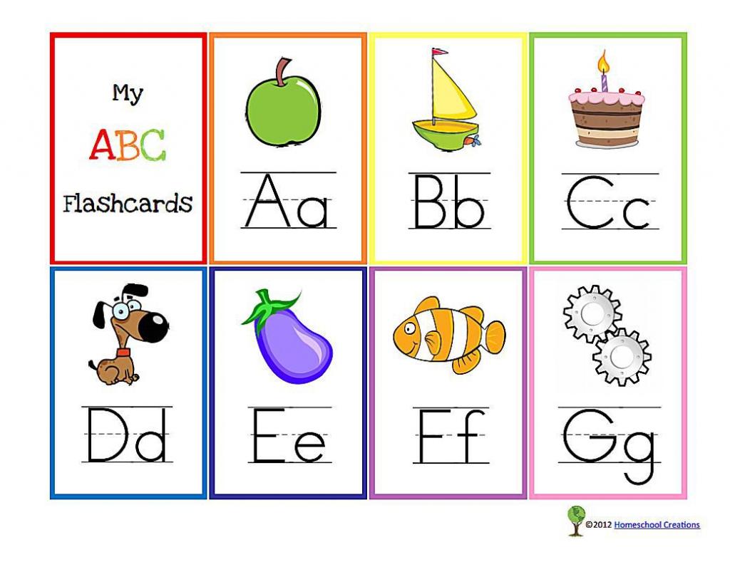 11 Sets Of Free, Printable Alphabet Flashcards | Free Printable Flash Card Maker Online