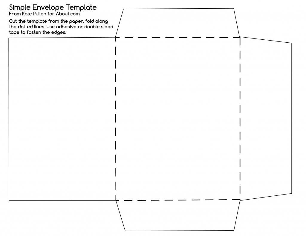12 Free Printable Templates | D I Y | Envelope Template Printable | Printable Envelope Template For 4X6 Card