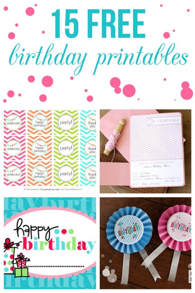 15 Free Birthday Printables - I Heart Nap Time | 9Th Birthday Cards Printable