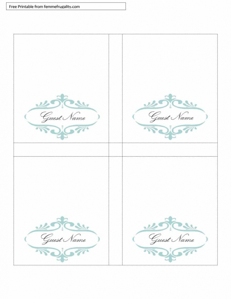 16 Printable Table Tent Templates And Cards ᐅ Template Lab | Free Printable Food Tent Cards
