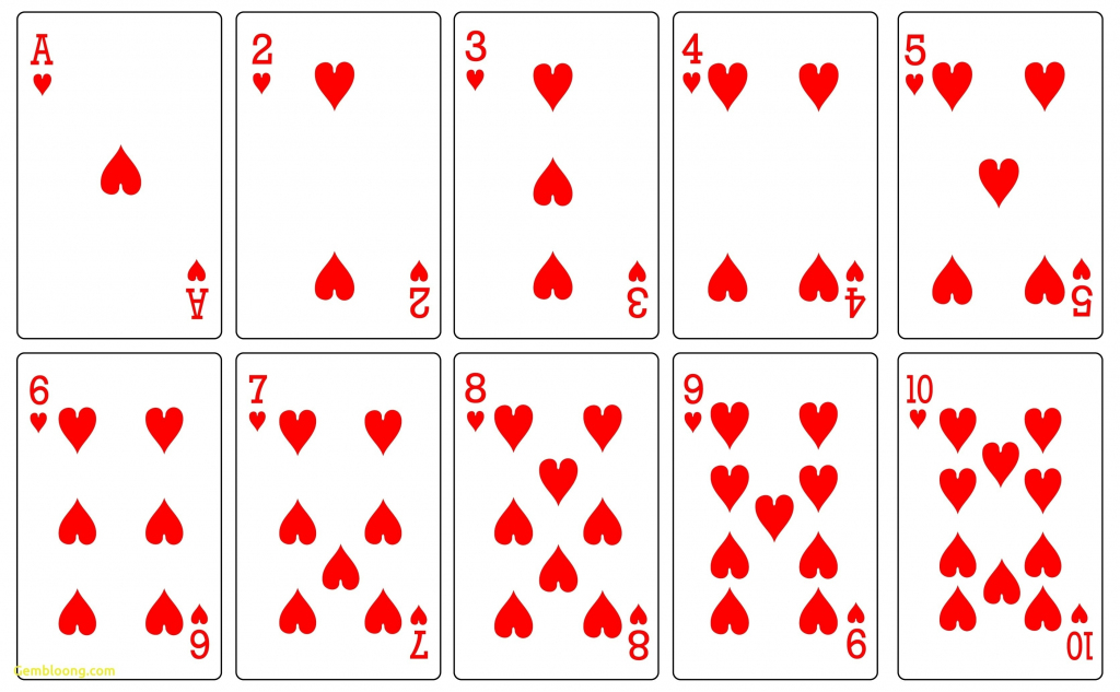 17 Free Printable Playing Cards | Kittybabylove | Printable Jumbo Playing Cards