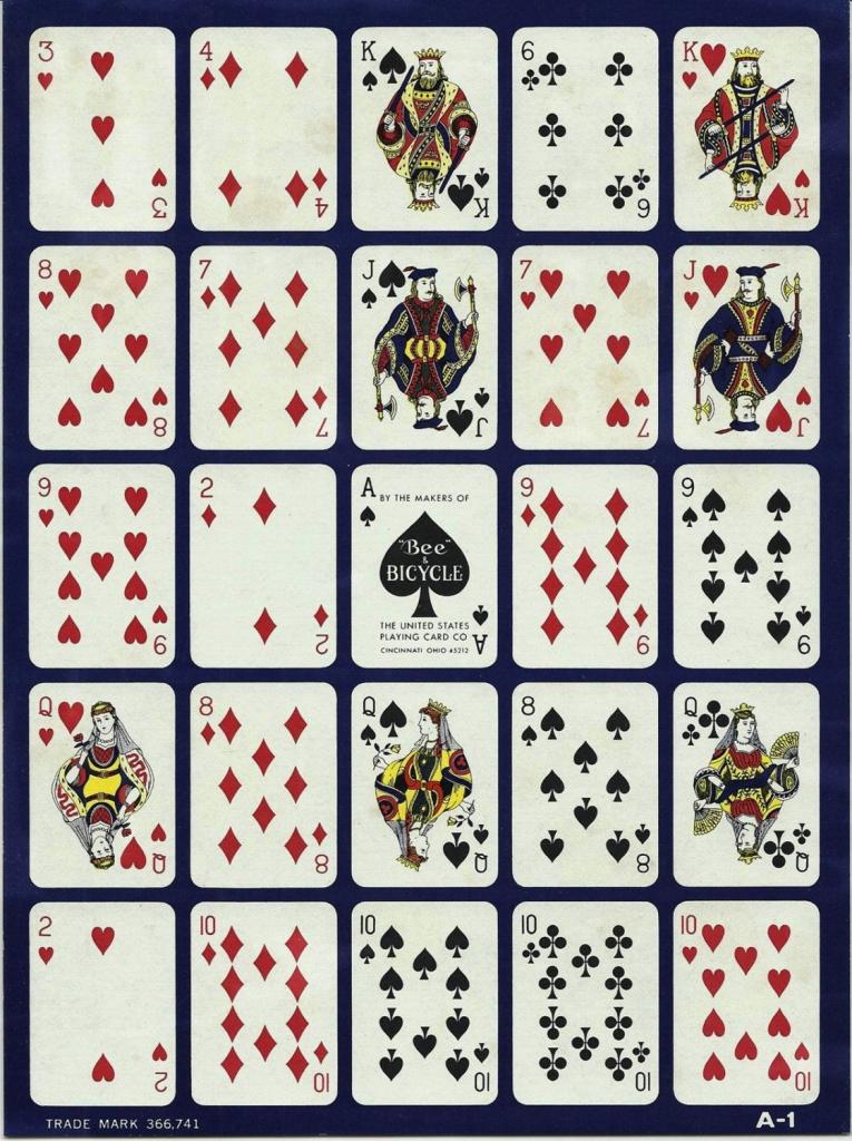 2 Vintage Pokeno Cards Paper Ephemera Mixedannesaccumulations | Free Printable Pokeno Game Cards
