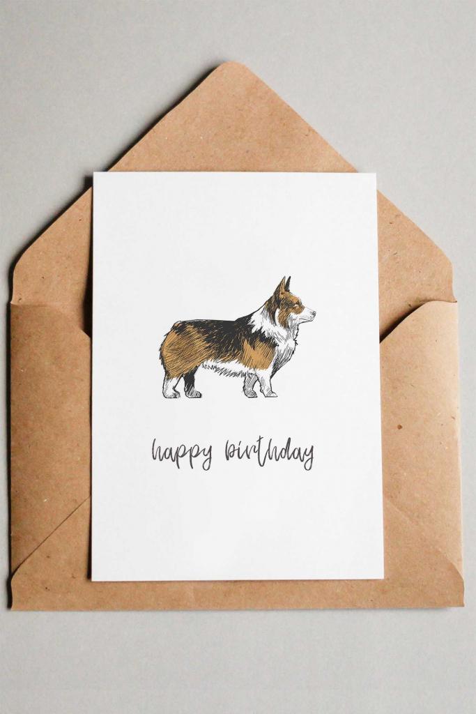 22 Free Printable Dog Birthday Cards | Free Printables | Free Happy | Printable Dog Birthday Cards