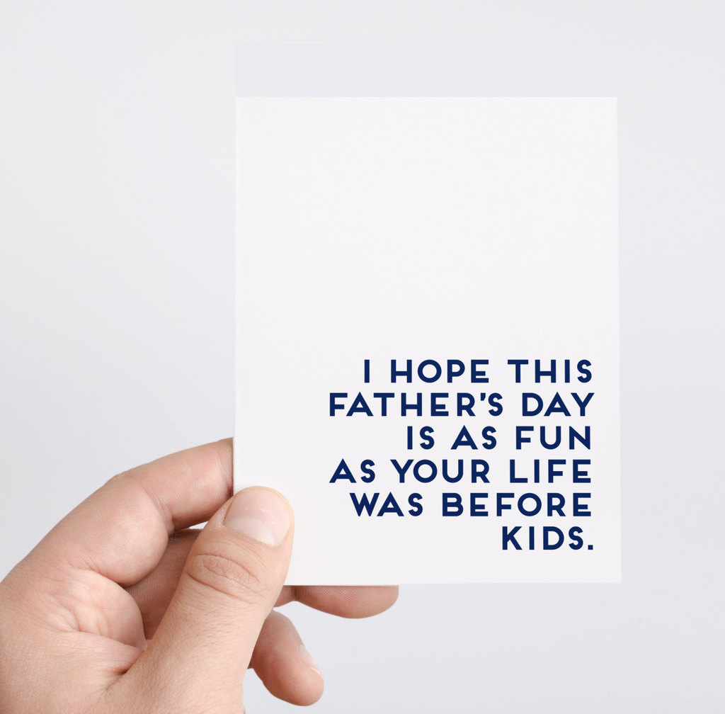 25 Hilarious Father's Day Cards Without A Single Reference To | Printable Step Dad Fathers Day Cards