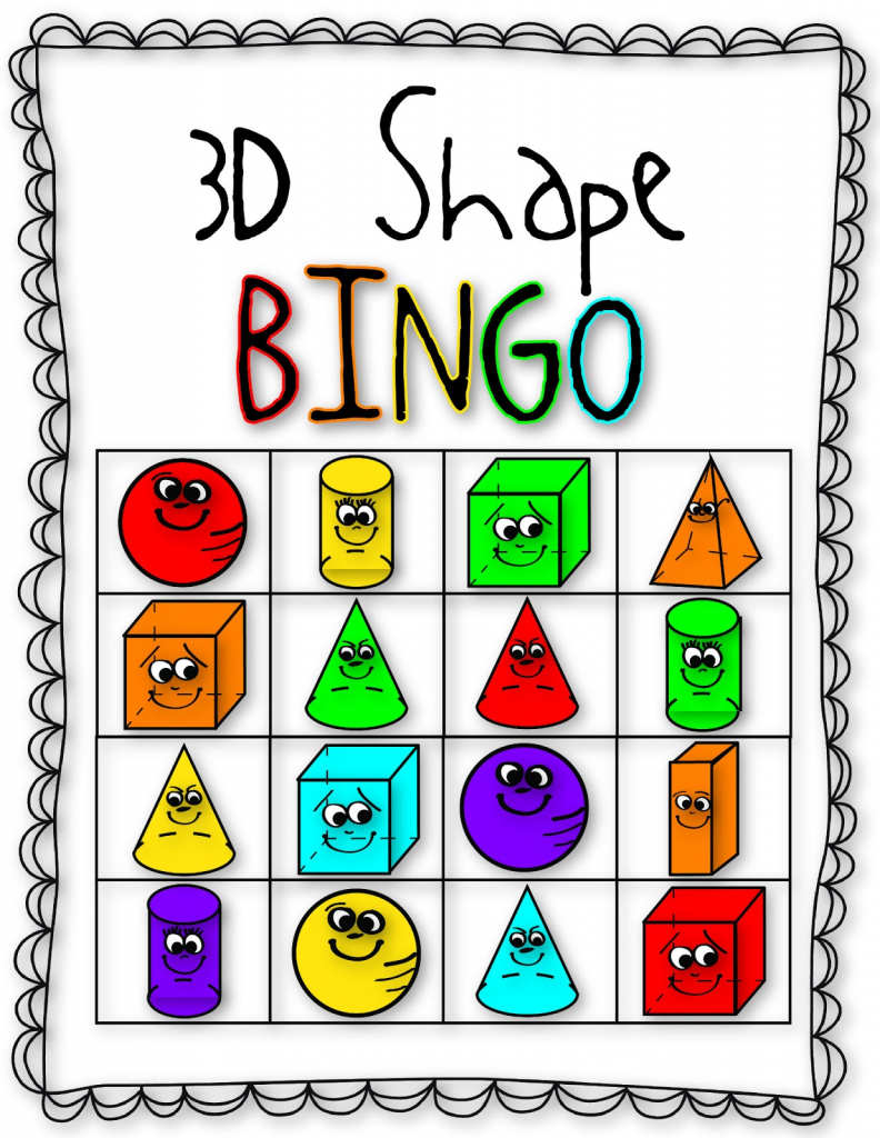 26 Images Of Shape Bingo Template   Bfegy   Shapes Bingo Cards Printable