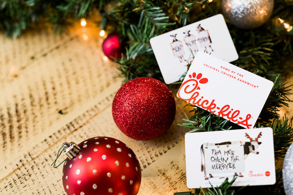3 Reasons To Give A Chick-Fil-A Gift Card As A Holiday Present   Chick Fil A Printable Gift Card