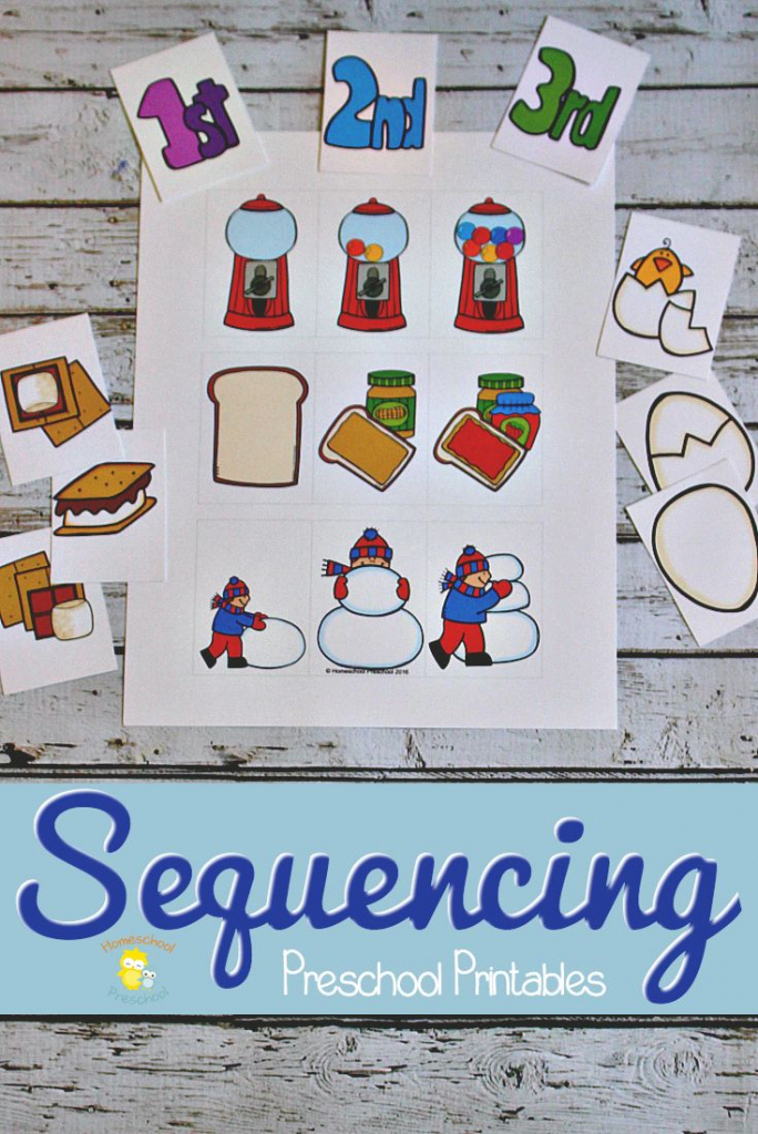 3 Step Sequencing Cards Free Printables For Preschoolers   Free Printable Sequencing Cards For Preschool