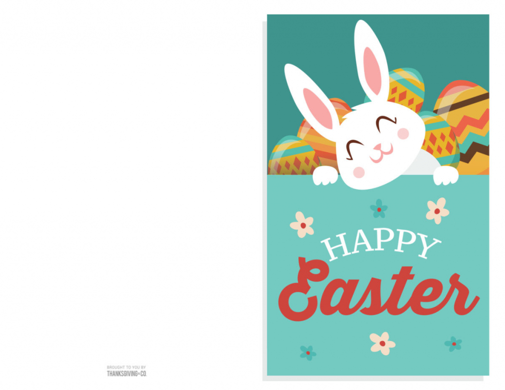 4 Colorful, Printable Easter Cards To Give To Friends And Family | Happy Easter Cards Printable
