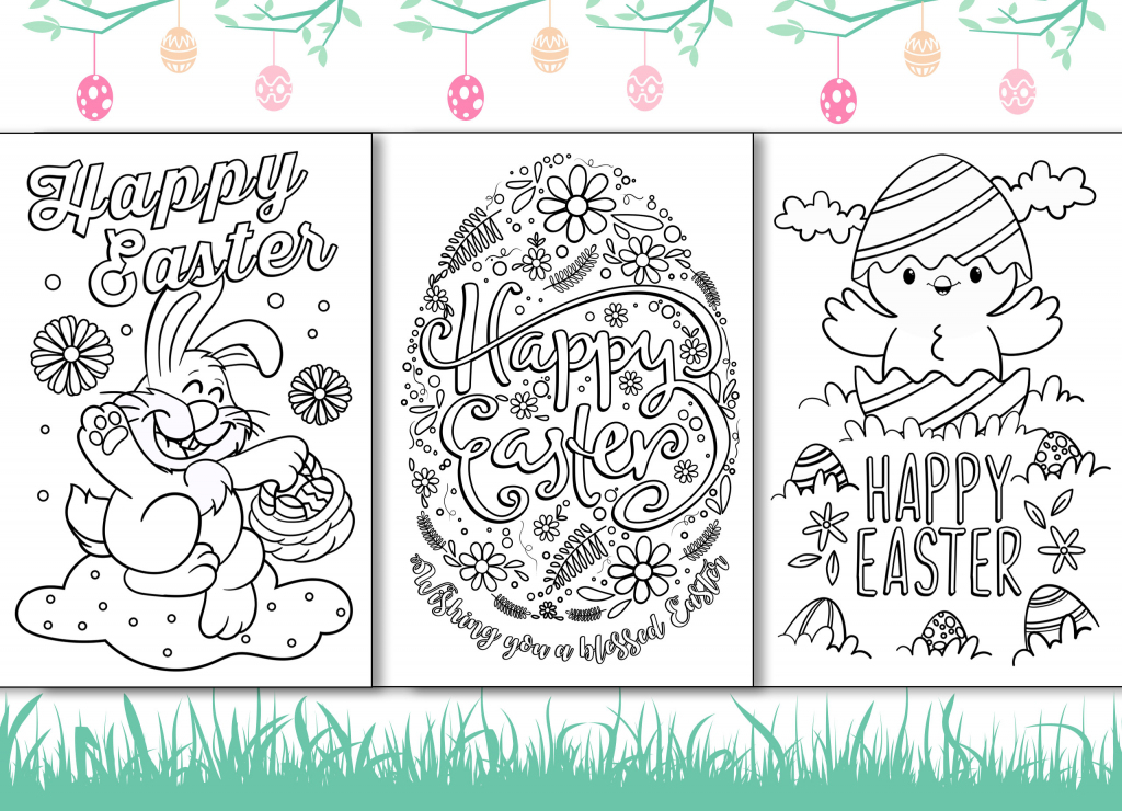 4 Free Printable Easter Cards For Your Friends And Family   Free Printable Cards To Color