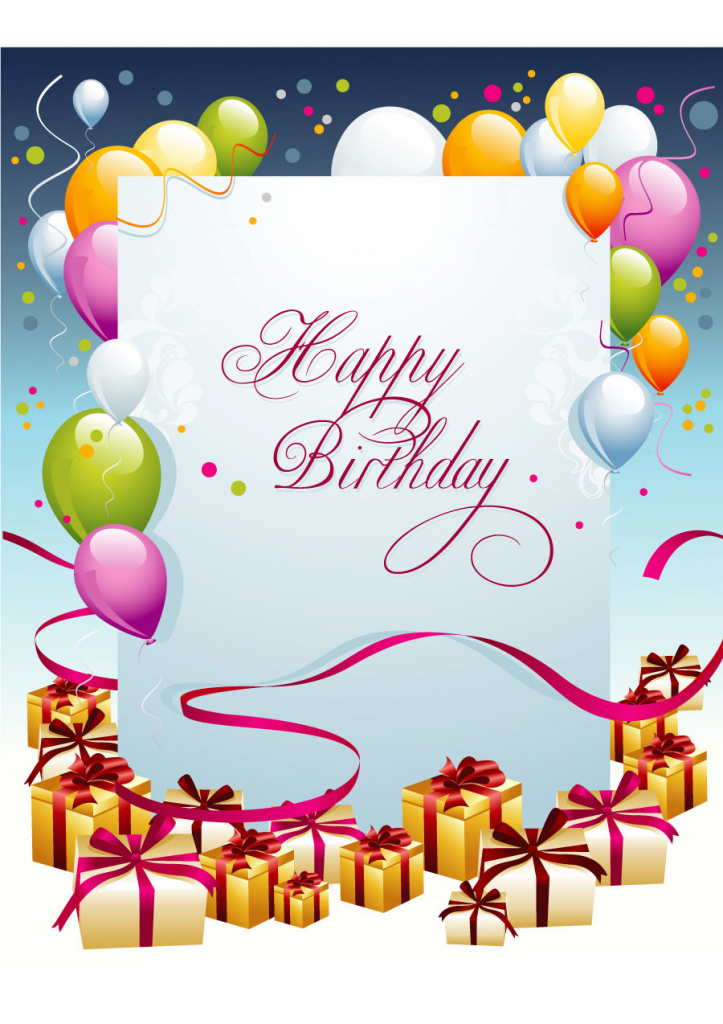 40+ Free Birthday Card Templates ᐅ Template Lab | Free Printable Personalized Birthday Cards