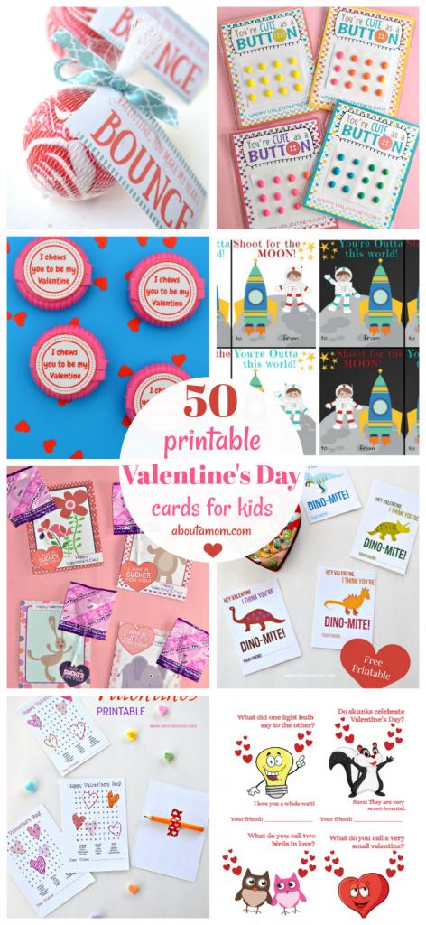 50 Free Printable Valentine's Day Cards   Printable Valentine Cards For Kids