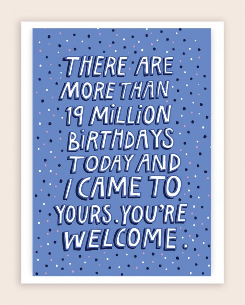50 Funny Birthday Card Ideas – Learn   Nerdy Birthday Cards Printable