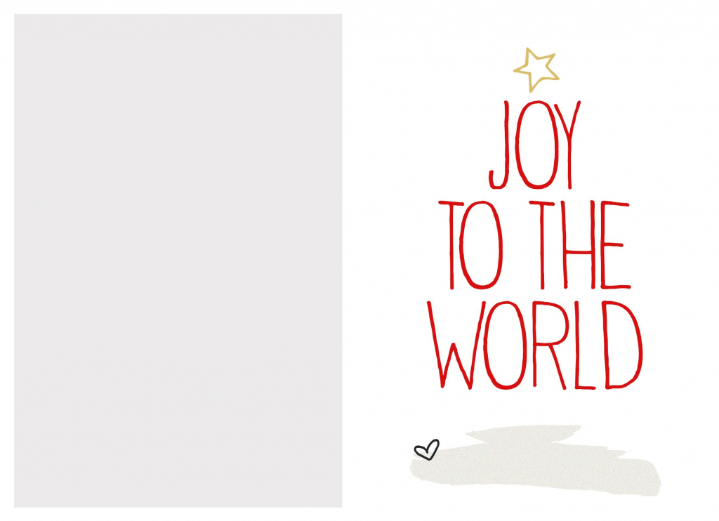 6 Best Images Of Free Printable Christmas Card Templates | Printable Christmas Greeting Cards