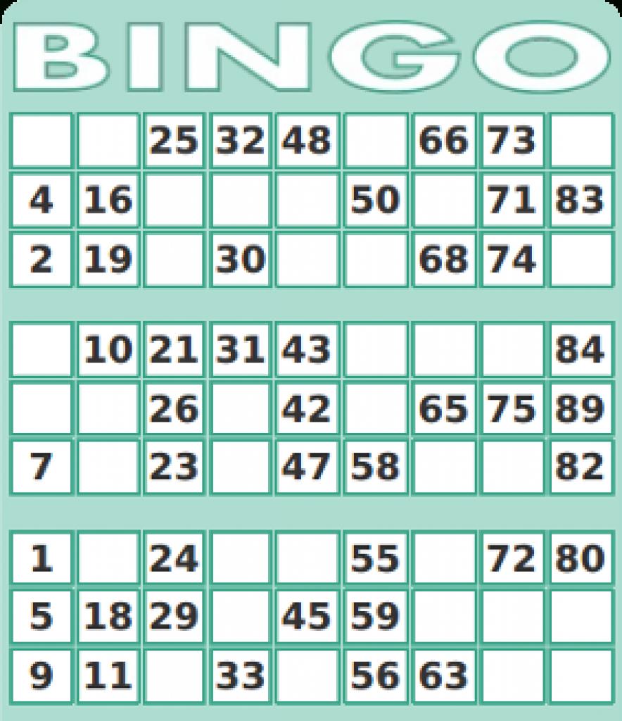 75 Number Bingo Card Generator   Print - 2019-02-08   Printable Number Bingo Cards