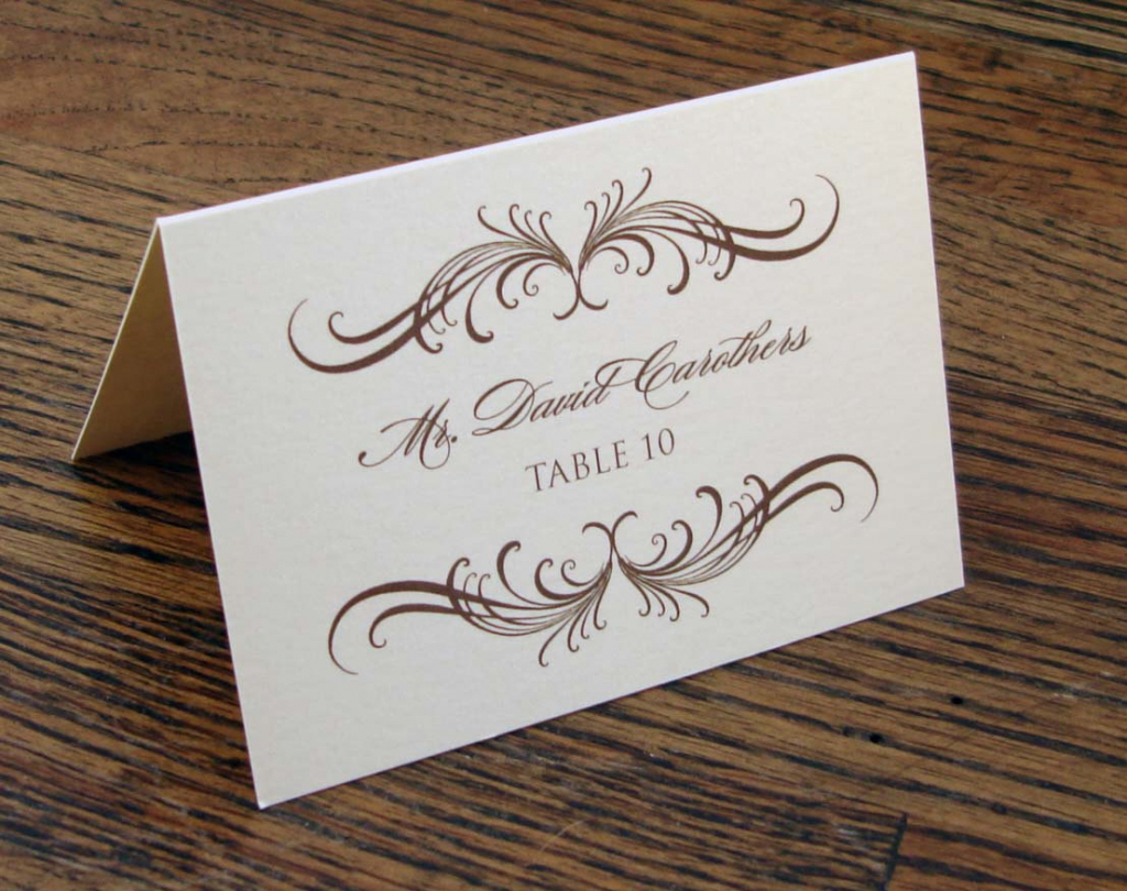 8 Best Images Of Wedding Name Cards Printable Wedding   Printable Wedding Place Cards