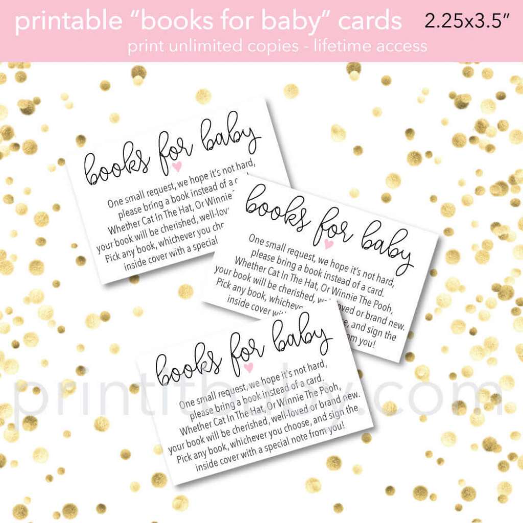 """9 """"bring A Book Instead Of A Card"""" Baby Shower Invitation Ideas 