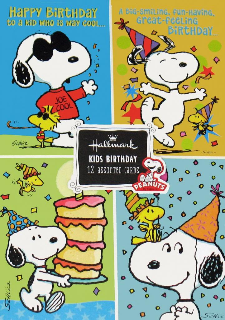 98+ Snoopy Birthday Ecards Free - Snoopy Greeting Cards Hallmark | Snoopy Printable Birthday Cards