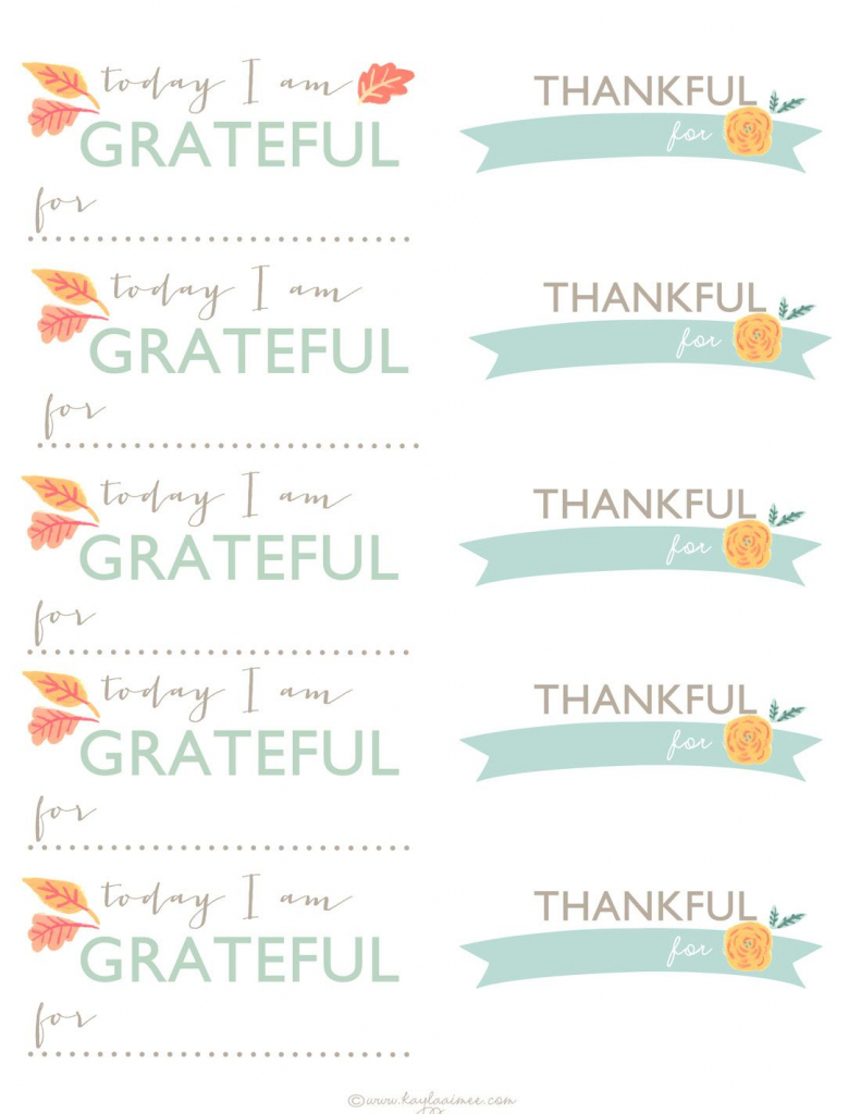 A Thanksgiving Tradition: Diy Gratitude Jar + Printable Thankful   Pastor Appreciation Cards Free Printable