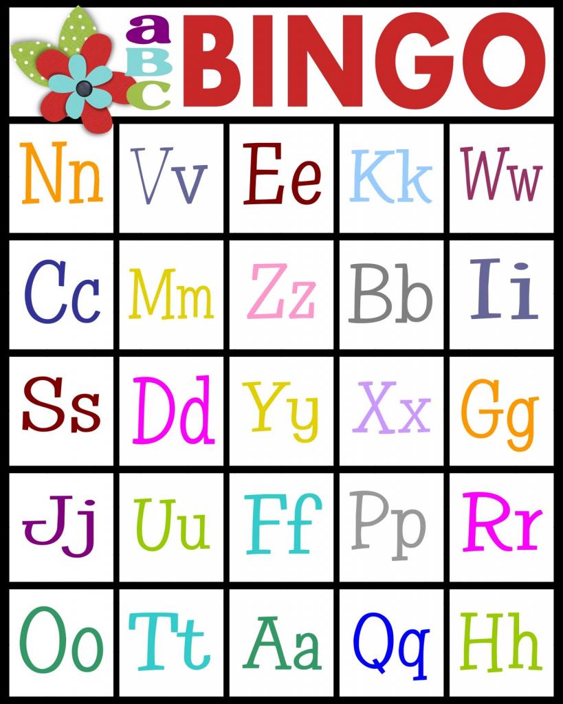 Abc Bingo | 4Peatssake | Printable Bingo Cards 2 Per Page