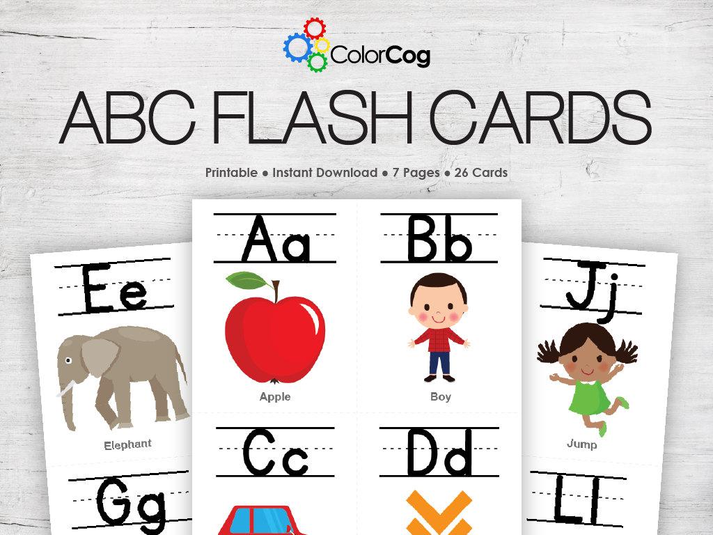 Abc Flash Cards Printable Pdf | Etsy | Printable Tagalog Alphabet Flash Cards