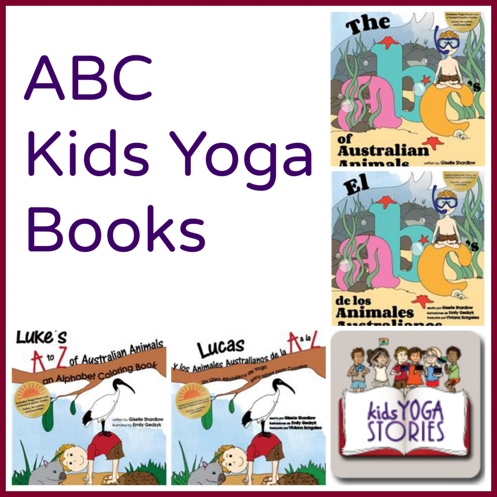 Abc Of Yoga For Kids – Yoga Poses For Beginners   Abc Yoga Cards Printable