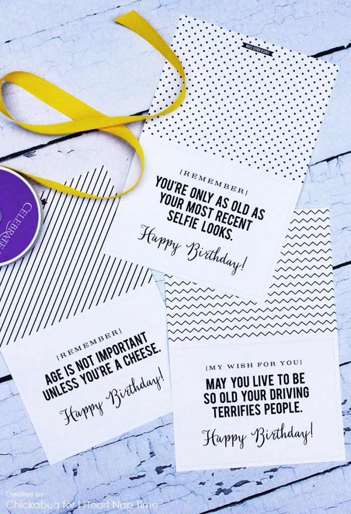 Adorable Free Printable Birthday Cards - I Heart Naptime | Pins I | Free Online Funny Birthday Cards Printable