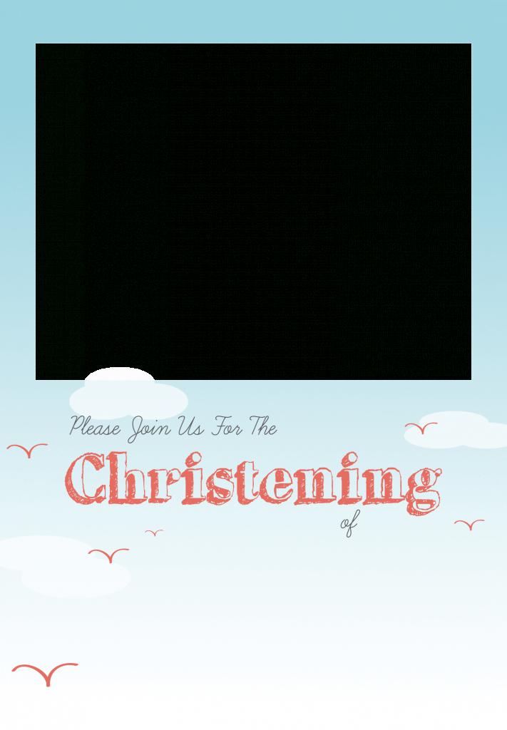 All Smiles - Free Printable Baptism & Christening Invitation | Printable Baptism Christening Cards
