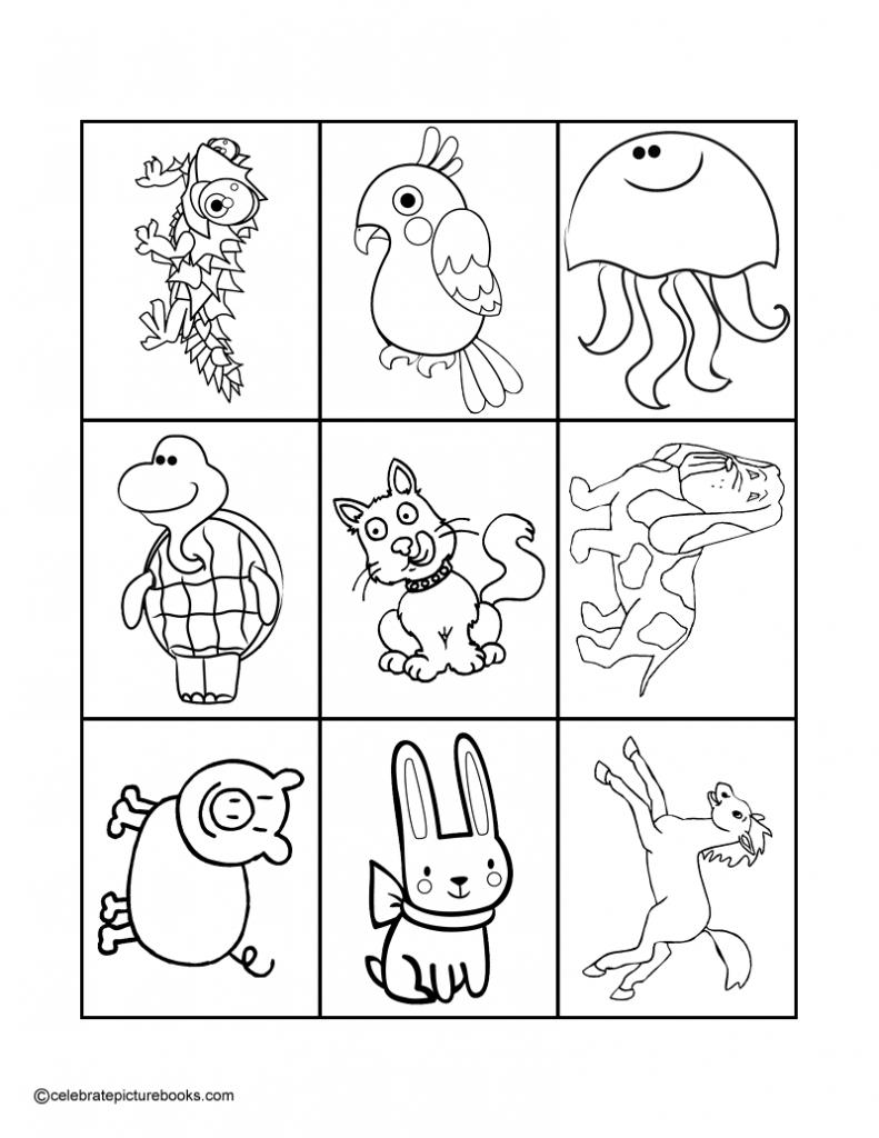 Animal Match-Up Card Game     Animal Matching Cards Printable
