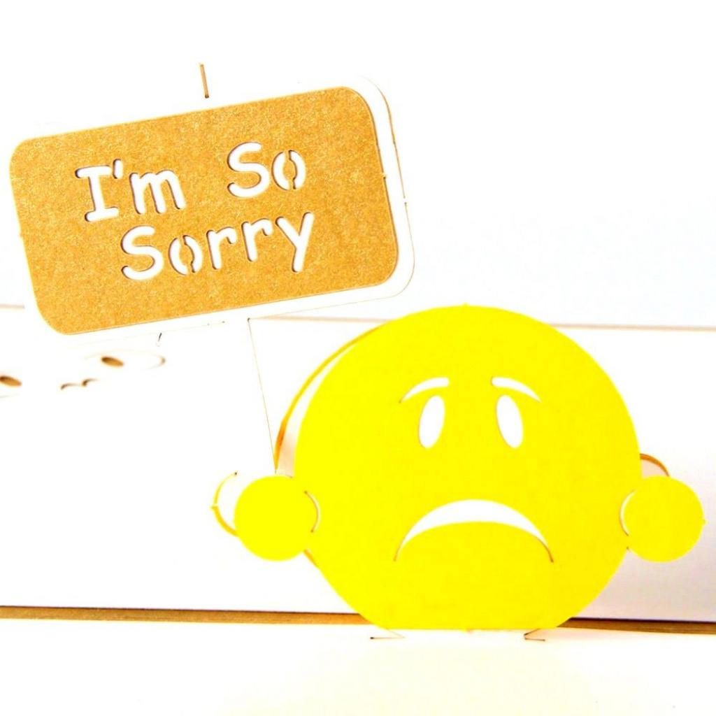 Apology Card Templates   10+ Free Printable Word & Pdf   Free Printable I Am Sorry Cards