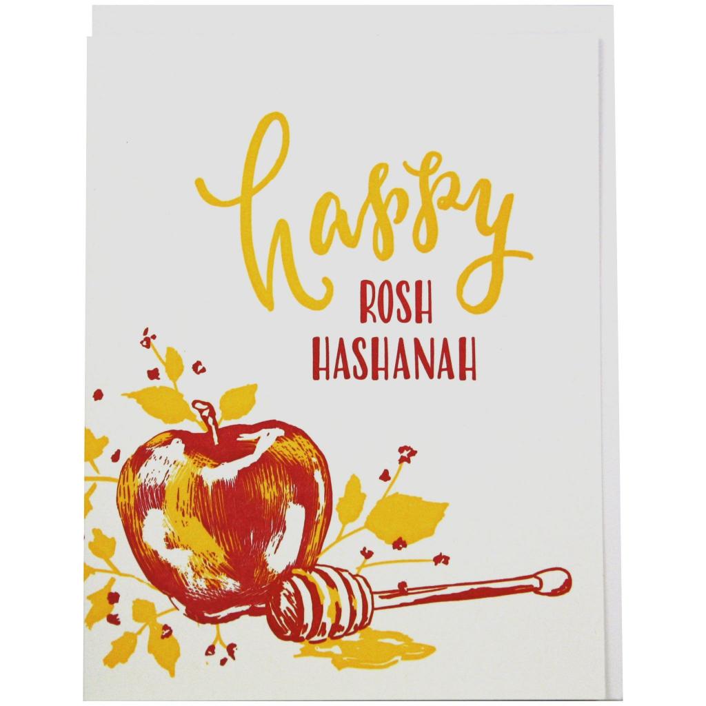 Apples And Honey Rosh Hashanah Card | ** Amazing Cards | Rosh Hashanah Greeting Cards Printable