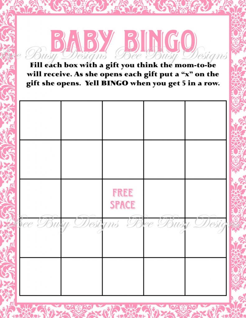 Baby Bingo Free Printable Template   Free Printables   Free Printable Baby Shower Bingo Cards