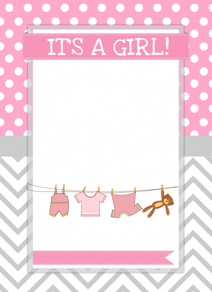 Baby Girl Shower Free Printables - How To Nest For Less™   Baby Girl Card Printable