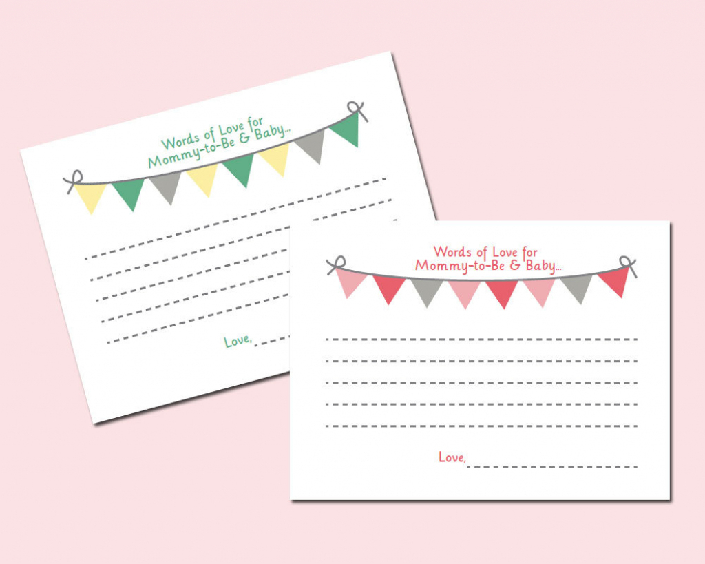 Baby Prediction And Advice Cards Free Printable | Free Printables | Free Printable Baby Advice Cards