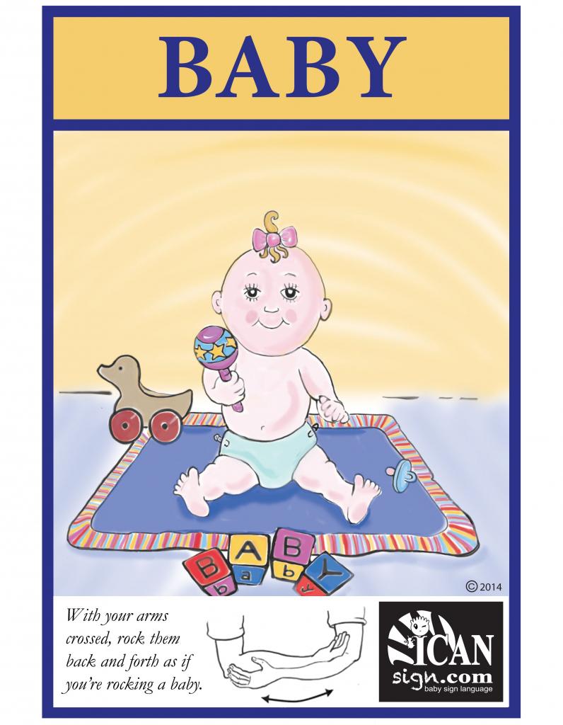 Baby Sign Language: Baby Flashcard | Sign Language Flash Cards | Baby Sign Language Flash Cards Printable