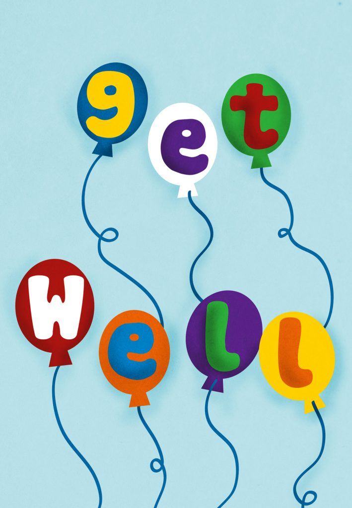 Balloons Get Well Soon Card Free Greetings Island Get Well