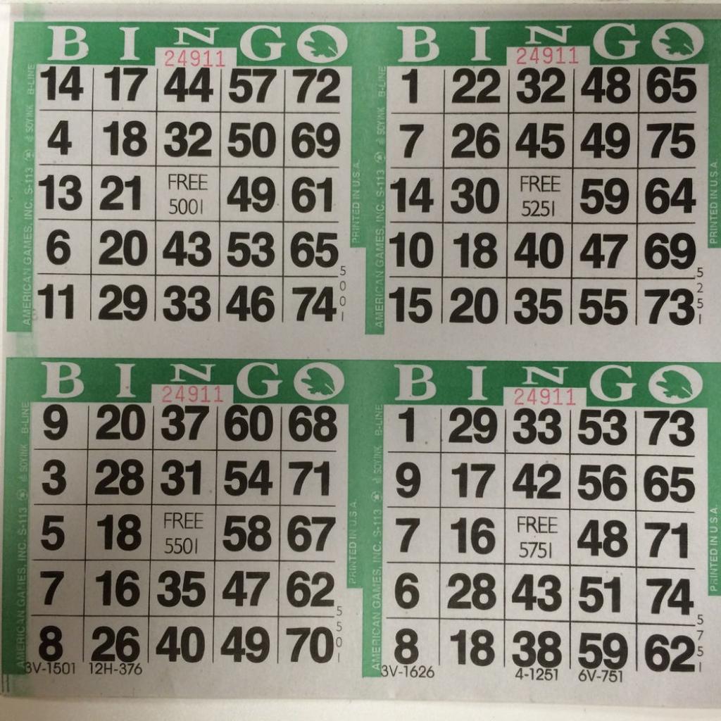 Best Photos Of Bingo Cards 2 Per Page - Bingo Cards 4 Per Page | Printable Bingo Cards 2 Per Page