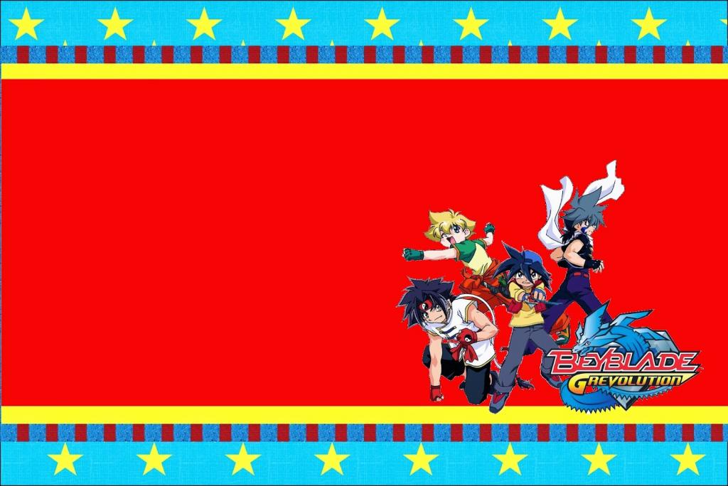Beyblade: Free Printable Invitations. - Oh My Fiesta! For Geeks   Beyblade Birthday Card Printable