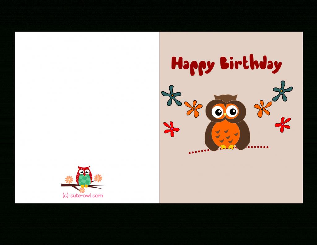 Birthday Card For Printable - Kleo.bergdorfbib.co | Free Printable Bday Cards