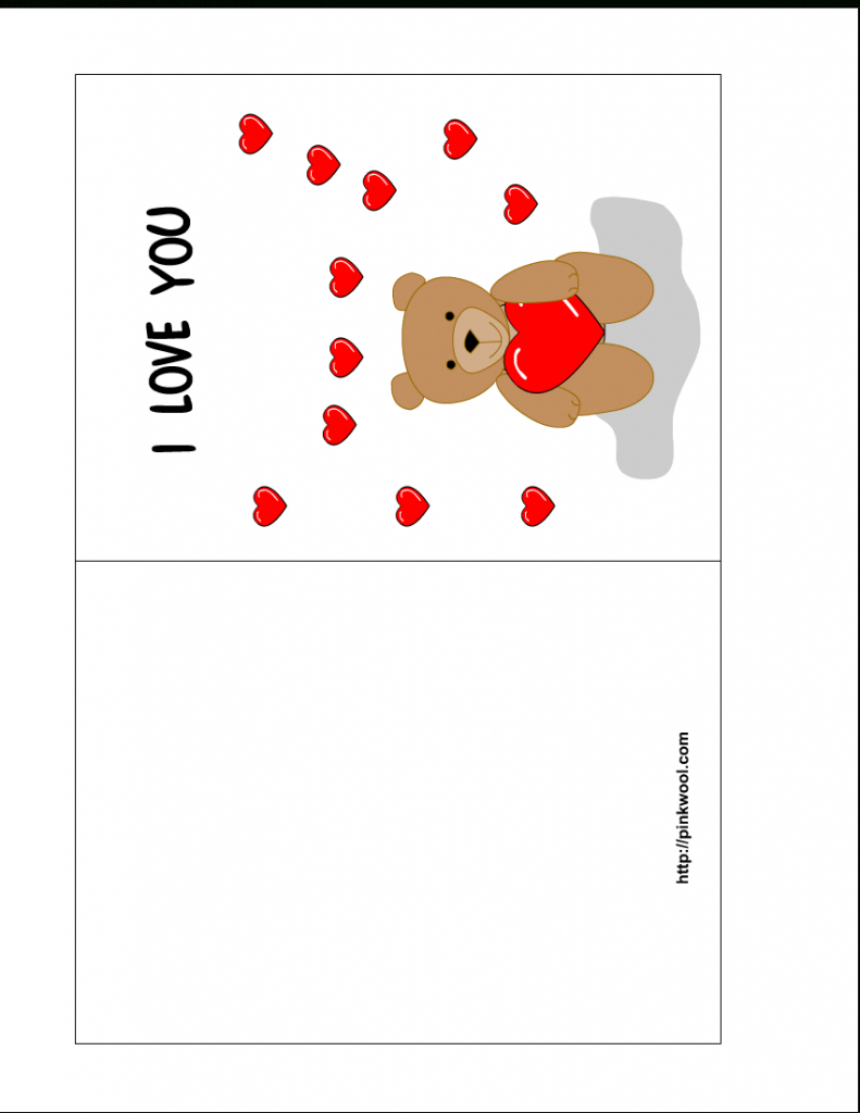 Birthday Card Template Printable - Kleo.bergdorfbib.co   Printable Greeting Card Template