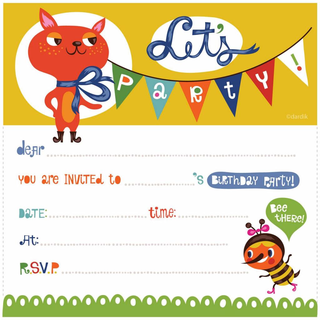Birthday Cards Invitations Printable - Kleo.bergdorfbib.co | Customized Birthday Cards Free Printable