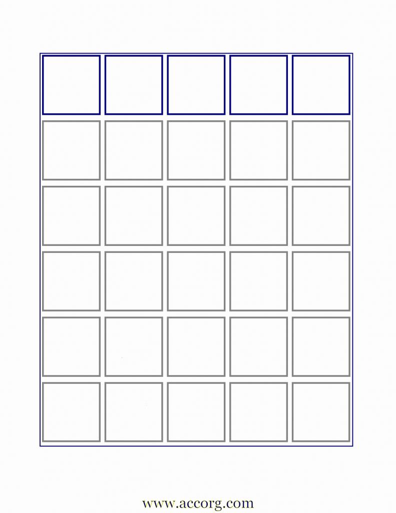 Blank Bingo Card Template   Cranfordchronicles   Free Printable Bingo Cards Random Numbers