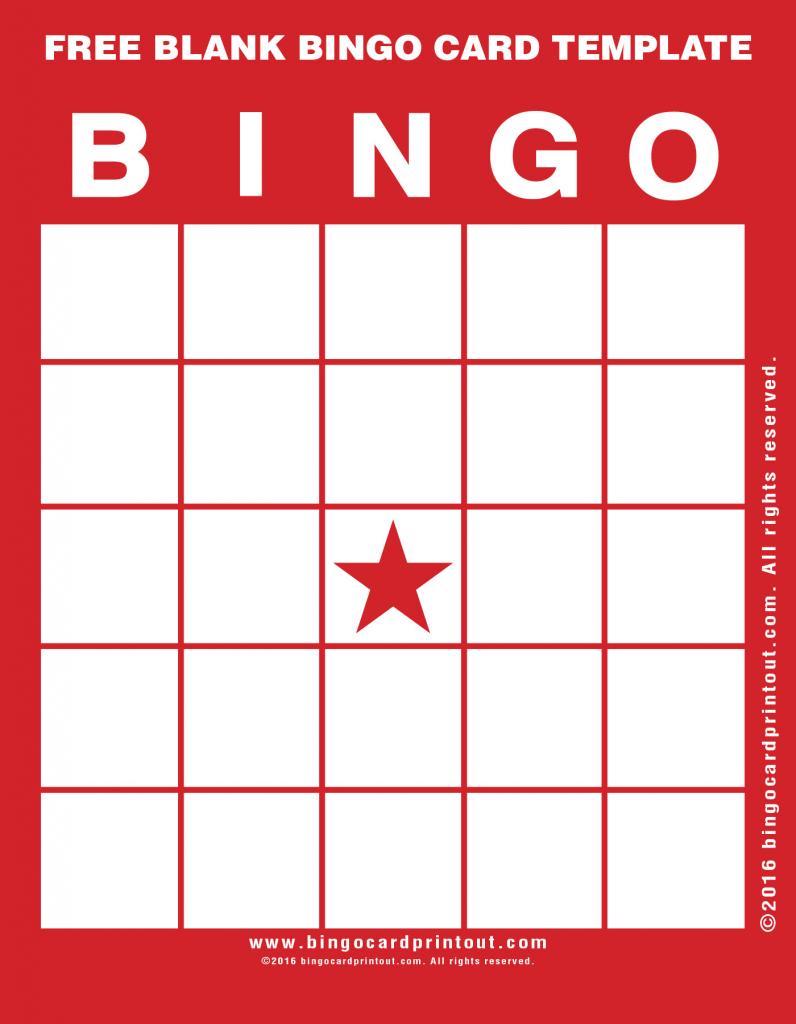 Blank Bingo Cards Archives - Bingocardprintout   Printable Blank Bingo Cards