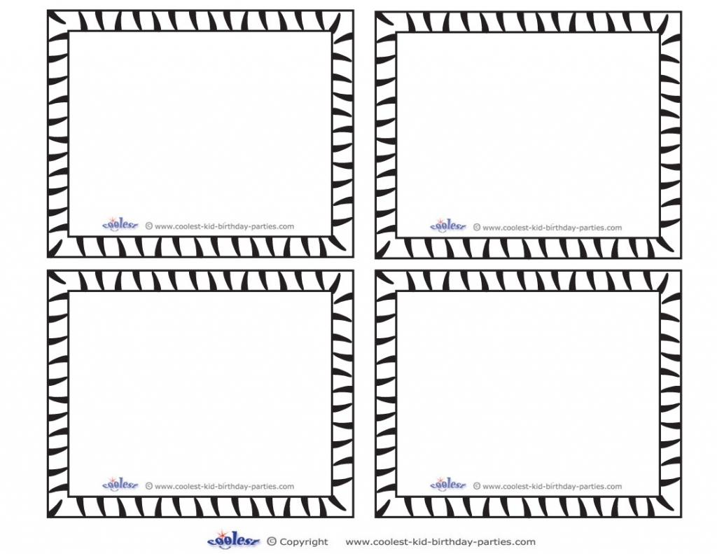 Blank Flash Card Templates | Printable Flash Cards | Pdf Format | Printable Blank Flash Cards